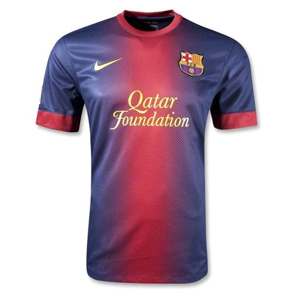 30095b3c465 ... 1213 Barcelona Home Soccer Jersey Shirt Replica wholesale soccer  jerseys 18~34 ...