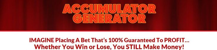 Football Accumulator betting strategy that makes money from the risk free bets you get from acca insurance offers.