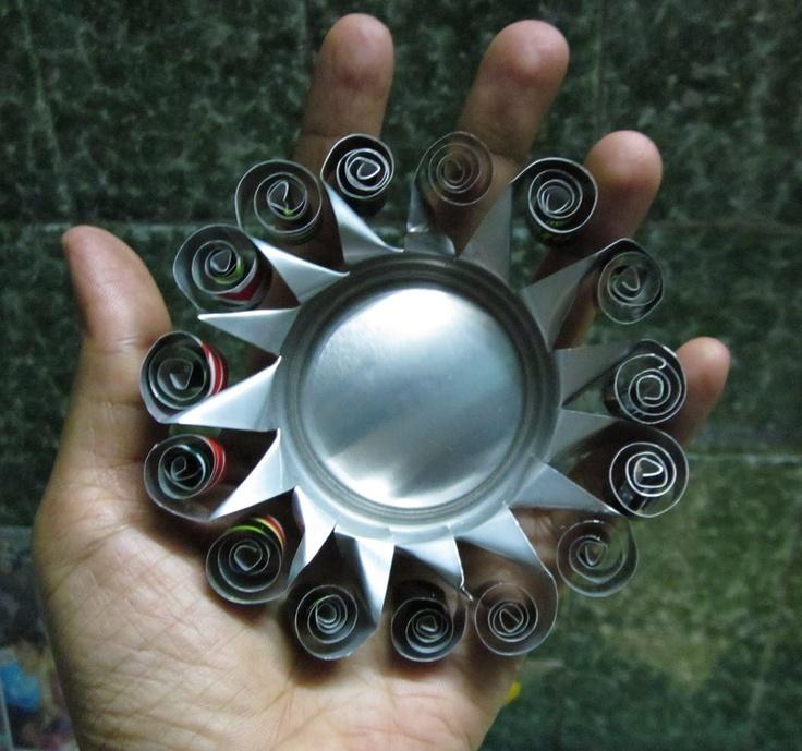 DAYDREAMS: recycling..Aluminium quilling
