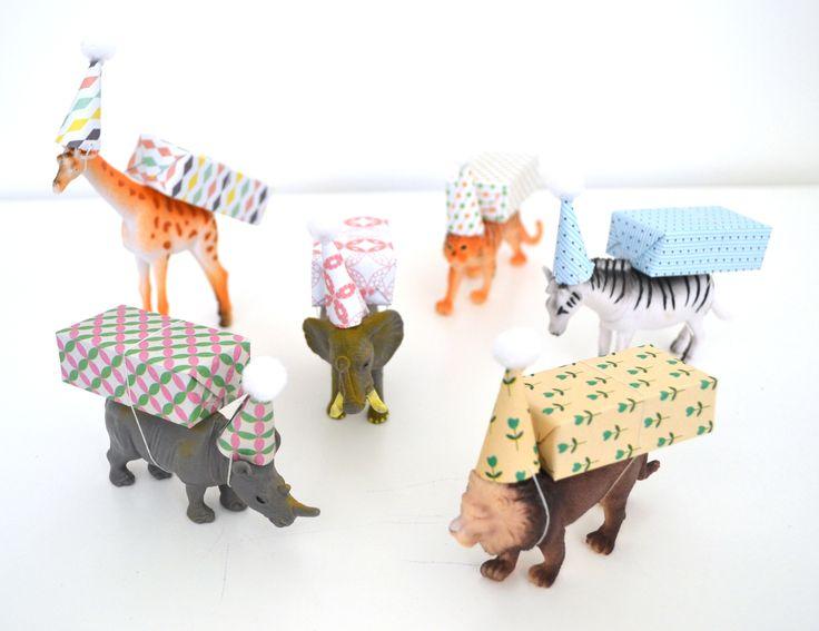 Traktatie kinderdagverblijf: party animals