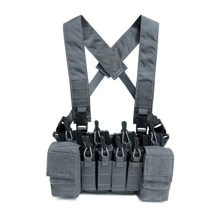 D3CRX Disruptive Grey chest rig