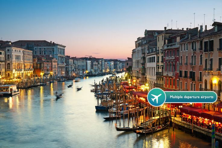 2, 3, or 4nt 4* Venice & Flights - 7 Departure Airports! deal in Holidays Head out on an Italian adventure with a 4* Venice break.   Includes return flights from Gatwick, Stansted, Luton, Manchester, East Mindlands, Edinburgh or Bristol to Venice.  Rest your head at the Le Boulevard Hotel or Hotel Delfino.  Explore the winding canals and famous sites.   Valid for travel on selected dates from...