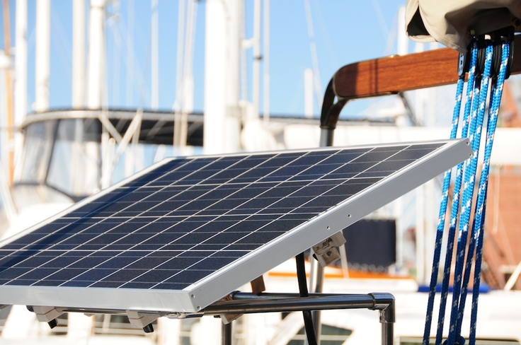 Solar Panals on boat
