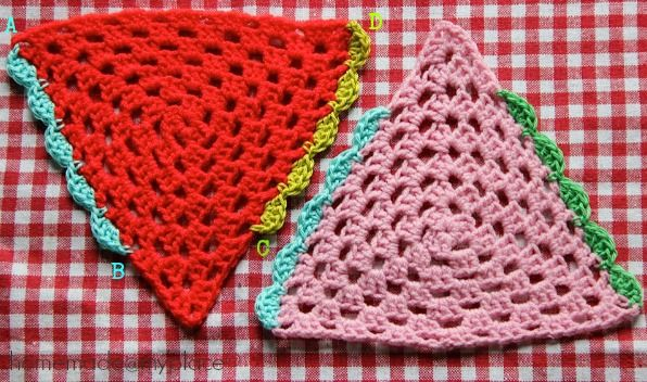 Scallop edging, free pattern by homemade@myplace crochet ...