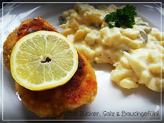 Hähnchen Cordon bleu mit Curry-Parmesan Panade