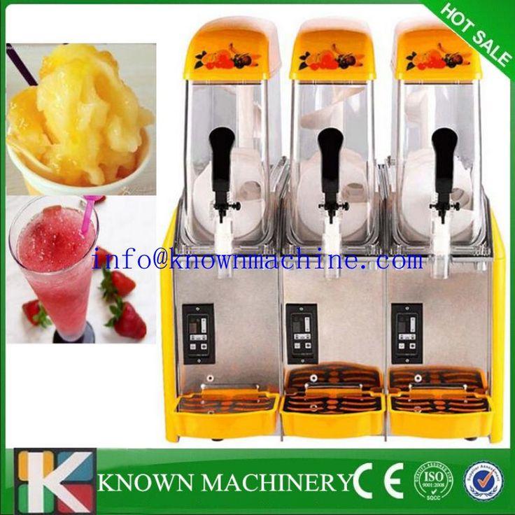 Word famous brand ce approved soft commercial slush machine/ Commercial Ice Smoothie Slushie / slush drink machine For Sale