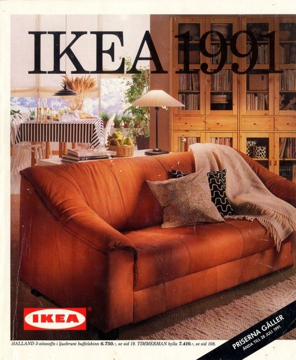 IKEA Catalog Covers From 1951 2015