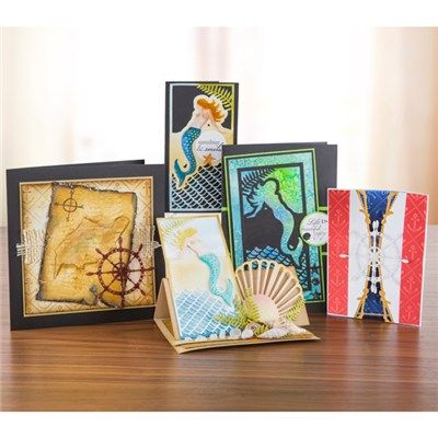 Create and Craft Couture The Sea Siren Collection - Papercraft and Scrapbooking