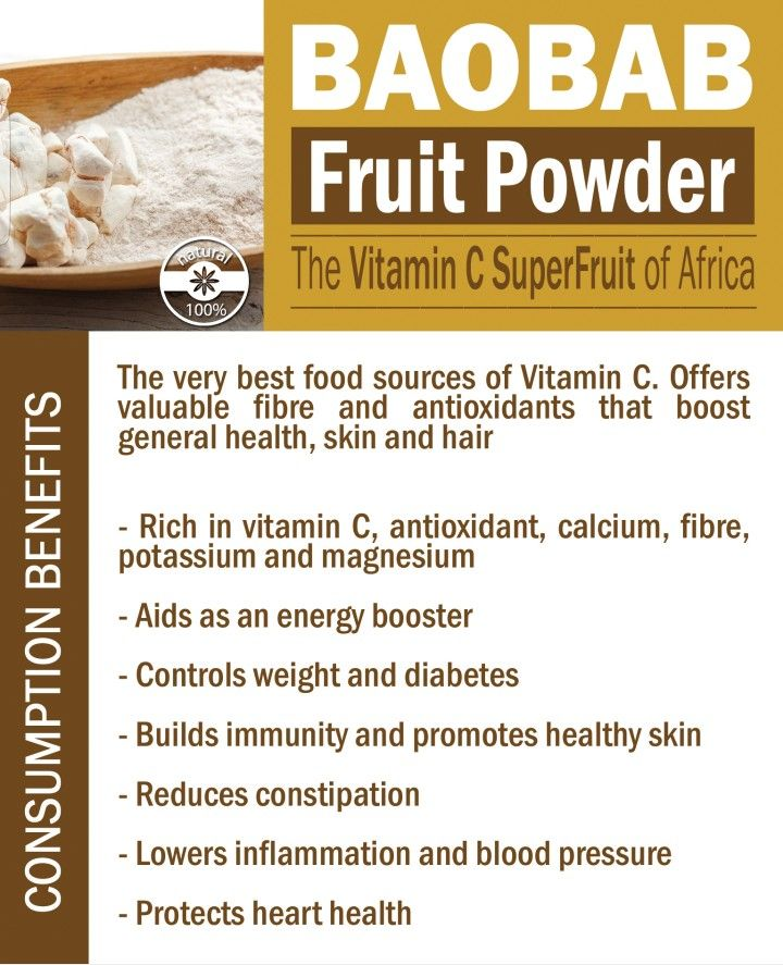 Baobab fruit powder benefits
