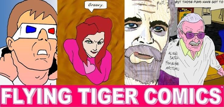 Flying Tiger Comics