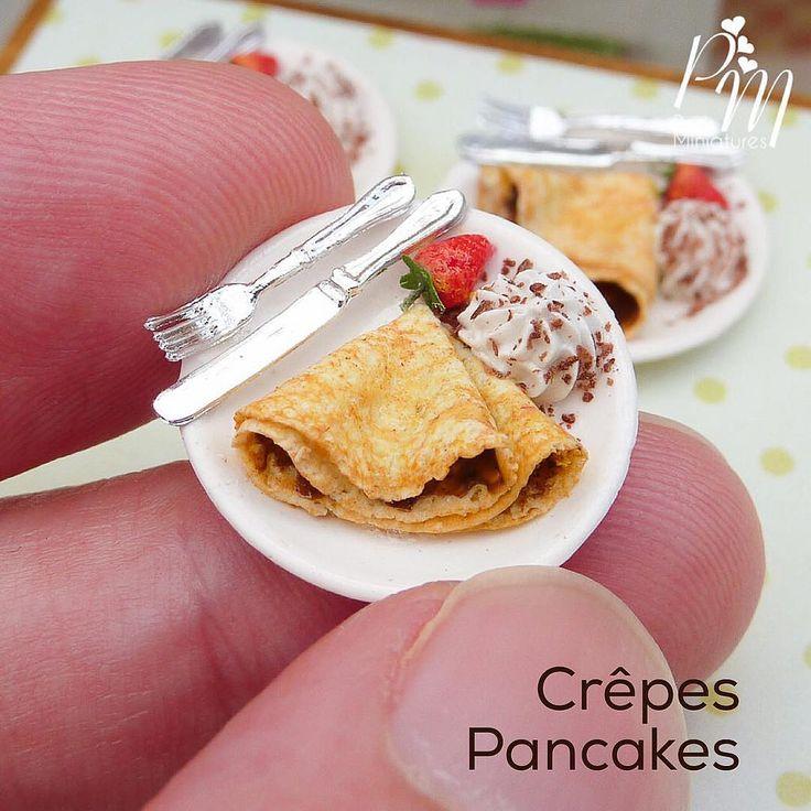 https://flic.kr/p/Dc7sJB | Miniature crêpes for Mardi Gras www.parisminiatures.etsy.com