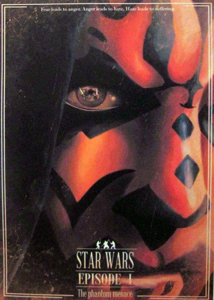 Постер к фильму Звёздные войны. Эпизод I: Скрытая угроза 3 :: Интернет-магазин дизайнерских постеров