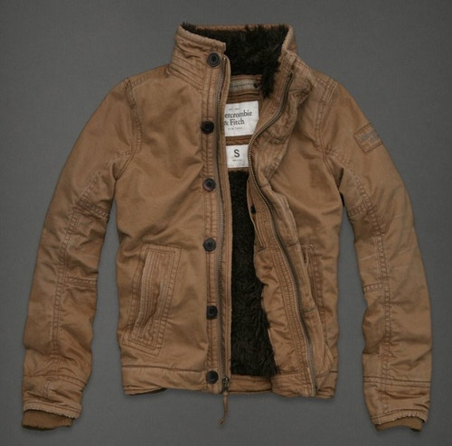 ABERCROMBIE A Men Mount MACINTYRE BRIDGE Lined Jacket Coat Outerwear