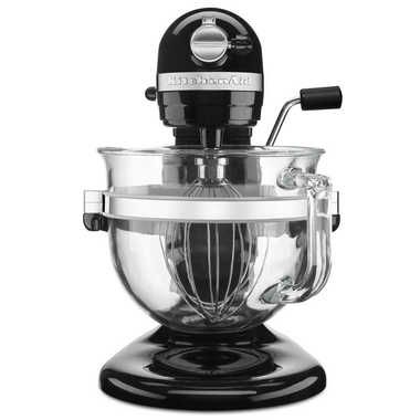 KITCHENAID Pro 600 Stand Mixer with 6-Quart Glass Bowl Black $429.99  SHIPPED FREE WORLDWIDE! GET AN EXTRA 15% OFF ENTER CHECKOUT PROMO CODE: PINTV16 AromaCulinary.Com
