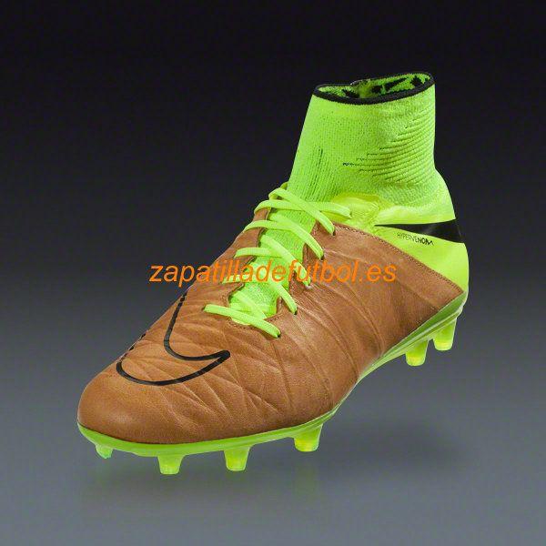 56% de descuento Zapatillas de Futbol Nike Hypervenom Phantom II FG Para Hombre Lienzo Negro Voltio Tech Craft Ii