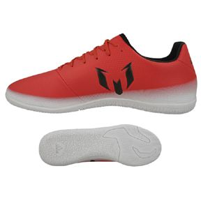 adidas Youth Lionel Messi 16.3 Indoor Soccer Shoes (Red Limit): http://www.soccerevolution.com/store/products/ADI_13153_F.php