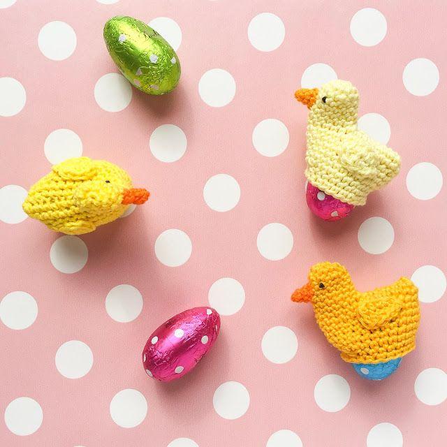 Un guide pour les poussins au crochet comme chauffe-œufs pour Pâques | ♥ Zuckersüß …   – Ostern