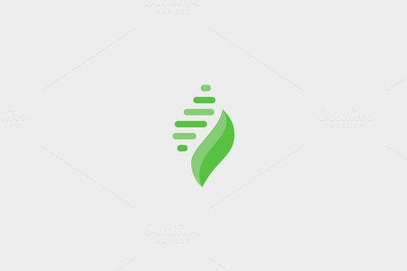 Abstract leaf shell premium logo. Islamic Icons. $25.00