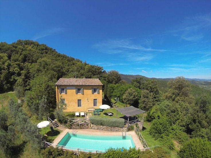 7. Op landgoed, wel privé goede plek Villa la Costa | Petrolo in Toscane | Vier slaapkamers met privé zwembad