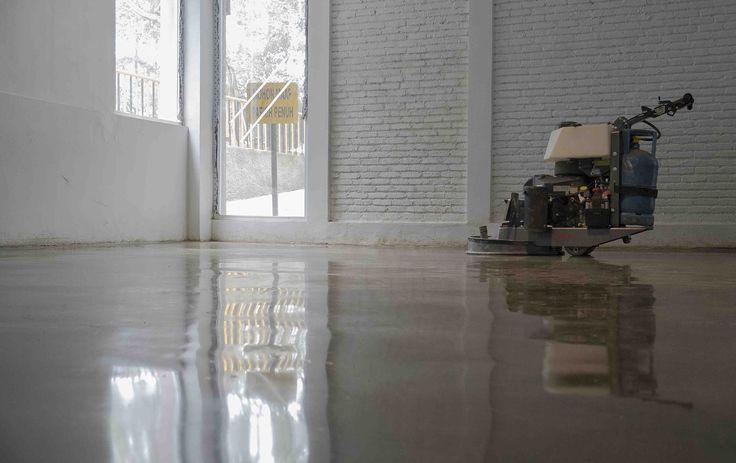 Ranch Market Polished Concrete Floor