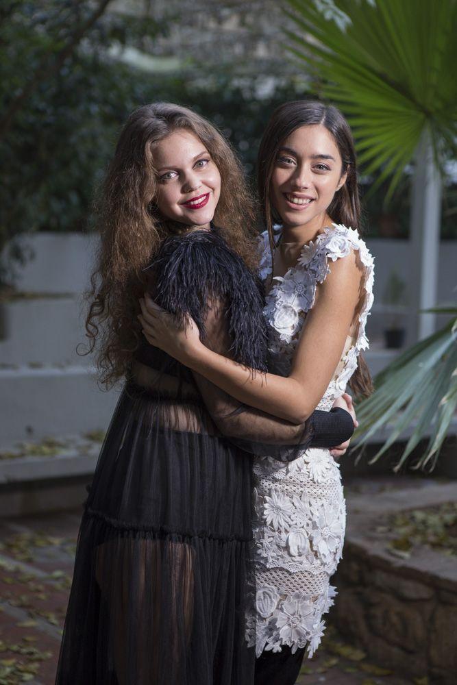 Λίλα Μπακλέση & Τζωρτζίνα Λιώση - www.mr-green.gr
