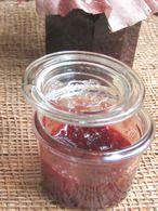 Confiture de fraises au vinaigre balsamique :
