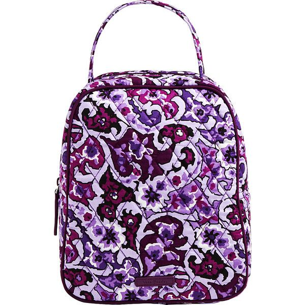 Vera Bradley Lunch Bunch - Lilac Paisley - Lunch Bags ($27) ❤ liked on Polyvore featuring home, kitchen & dining, food storage containers, purple, vera bradley lunch bag, vera bradley lunch sack, vera bradley, lunch sack and lunch thermos