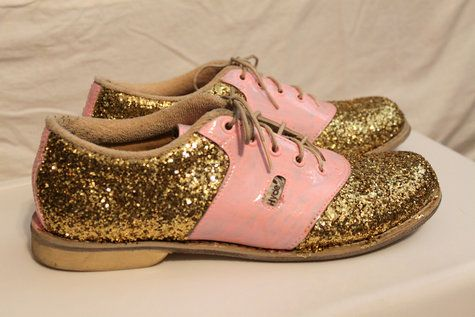 Glitter Bowling Shoes