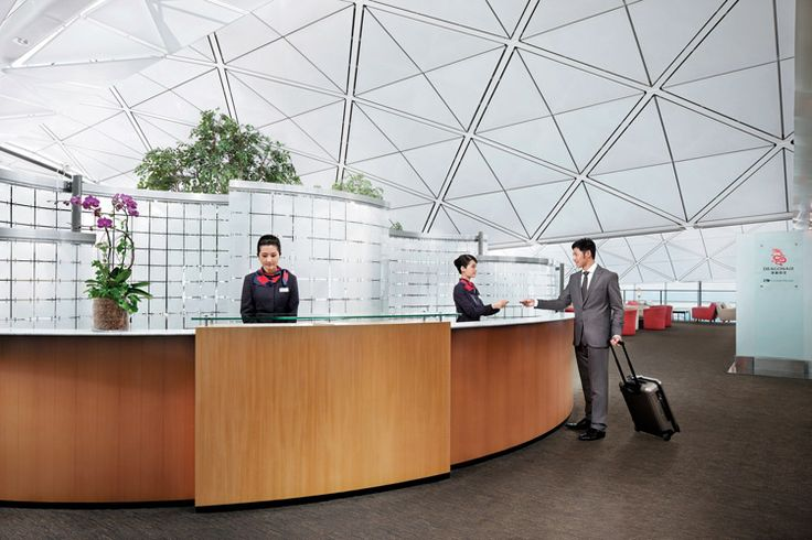 Acceso gratis a las salas VIP de Cathay Pacific si tienes un Klout por encima de 40
