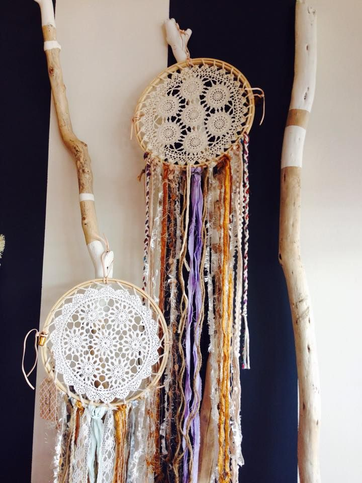 Locally crafted dreamcatchers by Johnny Cake Road $59