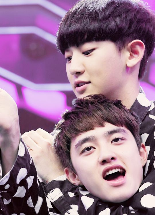 Chanyeol and D.O. | 140611 Happy Camp