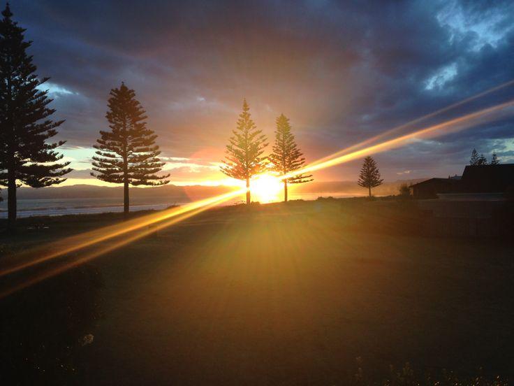 Magic moments in Gisborne, New Zealand.
