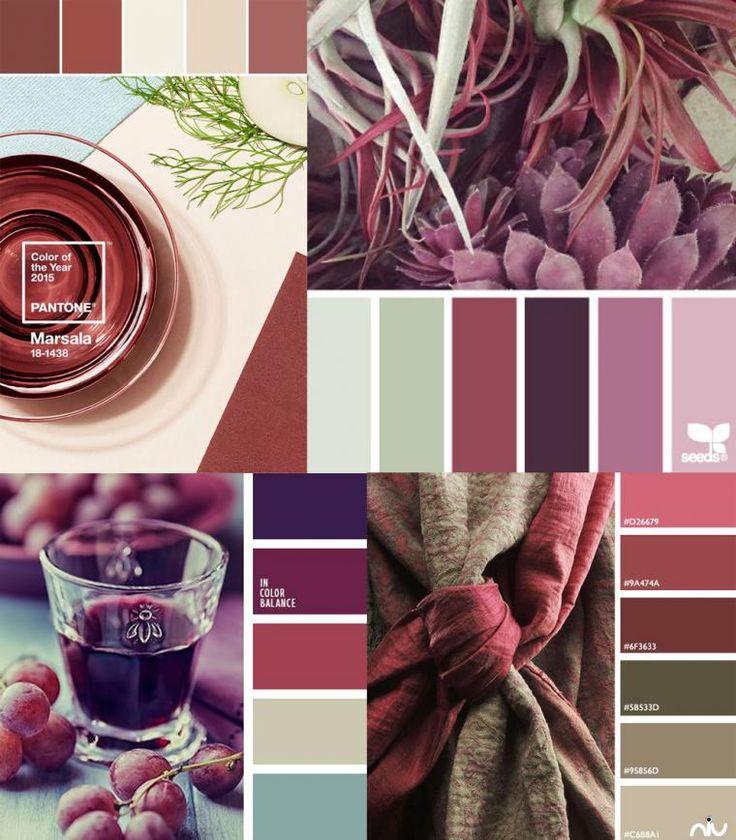 Главный тренд в цветах 2015 года – цвет марсала - Ярмарка Мастеров - ручная работа, handmade