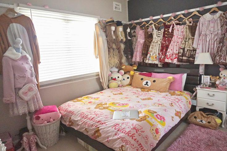 it kawaii rooms pinterest lolita dress kawaii and bed sheets