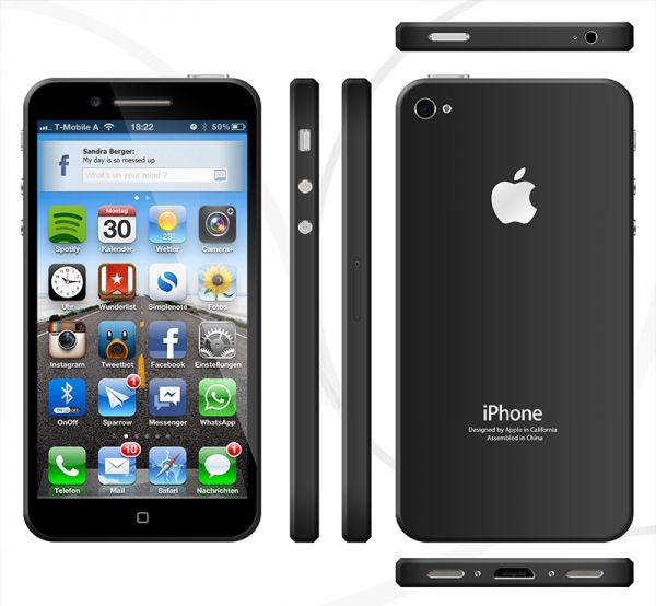 iPhone 5 model that you never seen before - B4PHONE.com - Technology News, SmartPhone News, Etc.