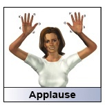 HearMyHands!: sign: APPLAUSE (the important part of praise in Deaf culture - no clapping but lots of praise!)