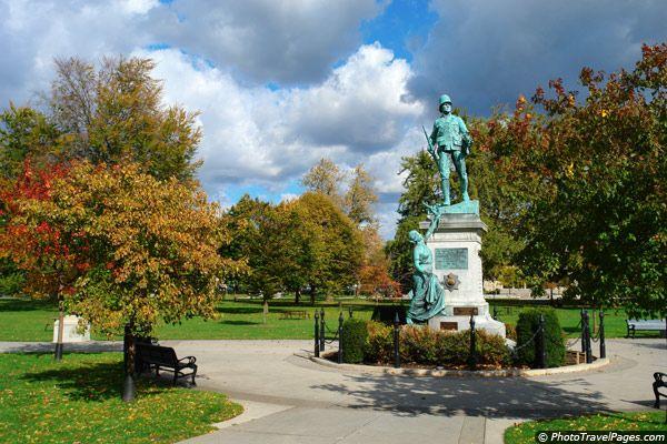 Victoria Park in London, Ontario