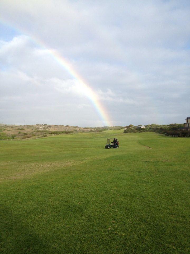 Atlantic Beach golfing in the rain