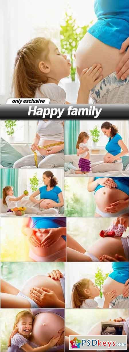Happy family - 10 UHQ JPEG