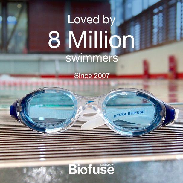 Gafas Futura Biofuse: Preferidas por 8 millones de nadadores desde 2007 #Speedo #FuturaBiofuse