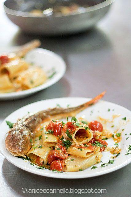 Paccheri alla gallinella: Paccheri Con, Bevand Che, Italian Food, Favorit Recipes Food Drinks, Con Sugo, Alla Gallinella, Paccheri Alla, Cucina Primi Piatti, Favorit Recipe Food Drinks