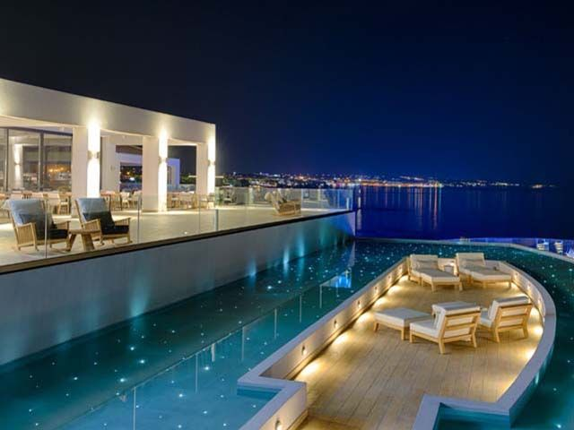 Abaton Island Resort And Spa 5 Stars Luxury Hotel Villa In Hersonissos Offers Reviews Island Resort Best Island Vacation Resort Spa