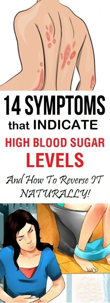 HIGH BLOOD SUGAR SYMPTOMS