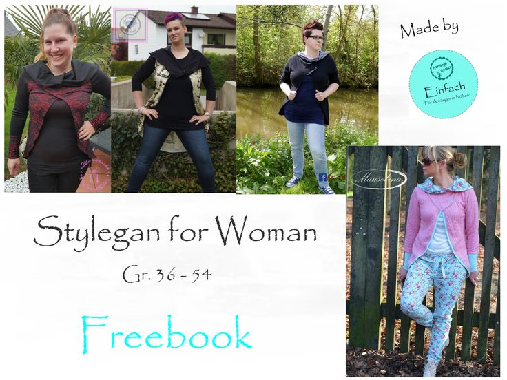 8 best Damenjacken Schnittmuster Freebooks images on Pinterest ...
