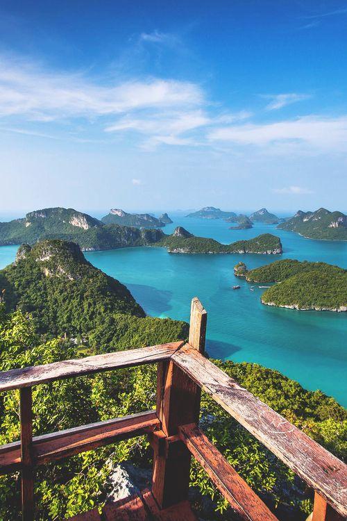 ● Beautiful! - Ang Thong National Marine Park, Thailand