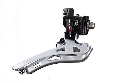Derailleurs Front 177812: New Campagnolo Centaur Black And Red 10 Speed Braze On Front Derailleur BUY IT NOW ONLY: $34.95