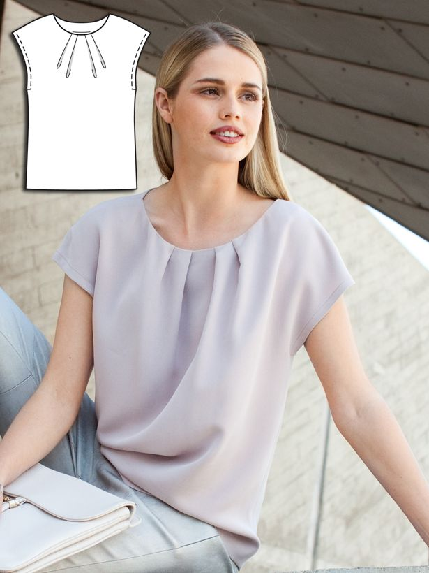 Could I make this? Hmm...Minimal Chic: 9 New Sewing Patterns – Sewing Blog | BurdaStyle.com