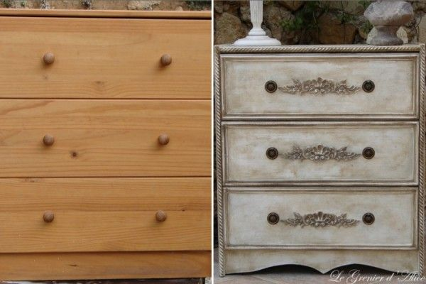 les 25 meilleures id es de la cat gorie commodes de style shabby chic sur pinterest salles. Black Bedroom Furniture Sets. Home Design Ideas