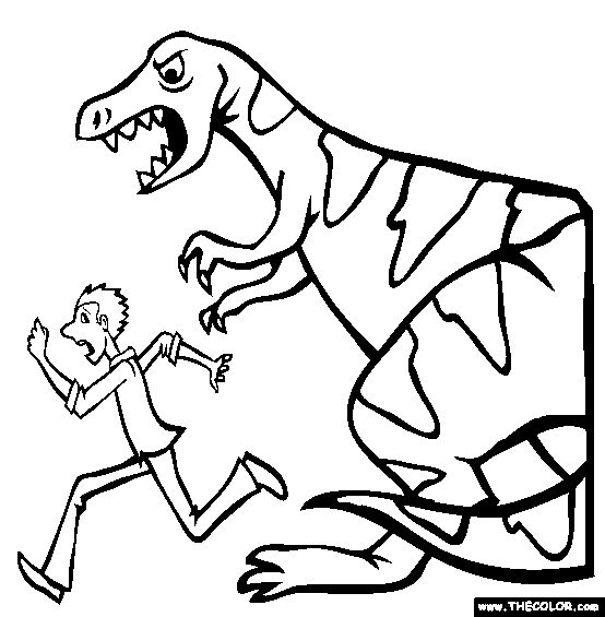 time travel coloring page