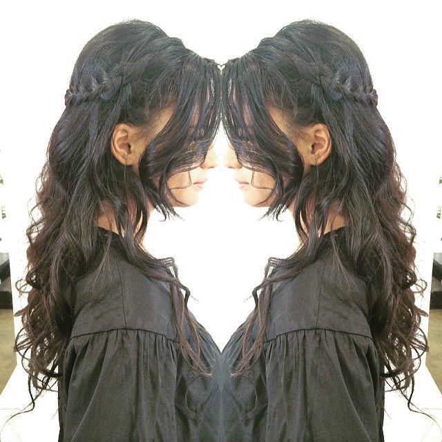 """Little bit of blushbar debutante hair! #blowdry #hair #hairstyle  #hairstyles #hairdo #longhairdontcare #braid #fashion  #straighthair #longhair #style #curly  #brown #brunette #hairoftheday #hairideas #braidideas #perfectcurls #hairfashion #coolhair #hairbygez #elevenaustralia #cloudnineaustralia @hairbygeraldine"" Photo taken by @blush_bar on Instagram, pinned via the InstaPin iOS App! http://www.instapinapp.com (08/04/2015)"